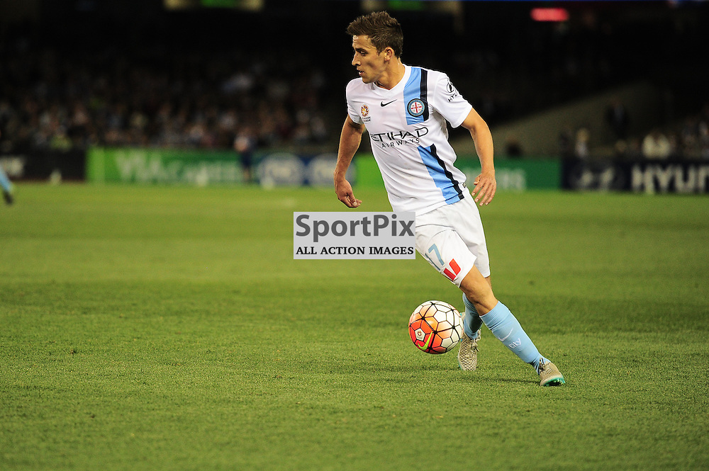 "Wade Dekker of Melbourne City - Hyundai A-League - October 17th 2015 - ROUND 2- Melbourne Victory FC v Melbourne City FC in the first derby for the 2015 season with a 3:2 win to Victory on the 90"" - © Mark Avellino 