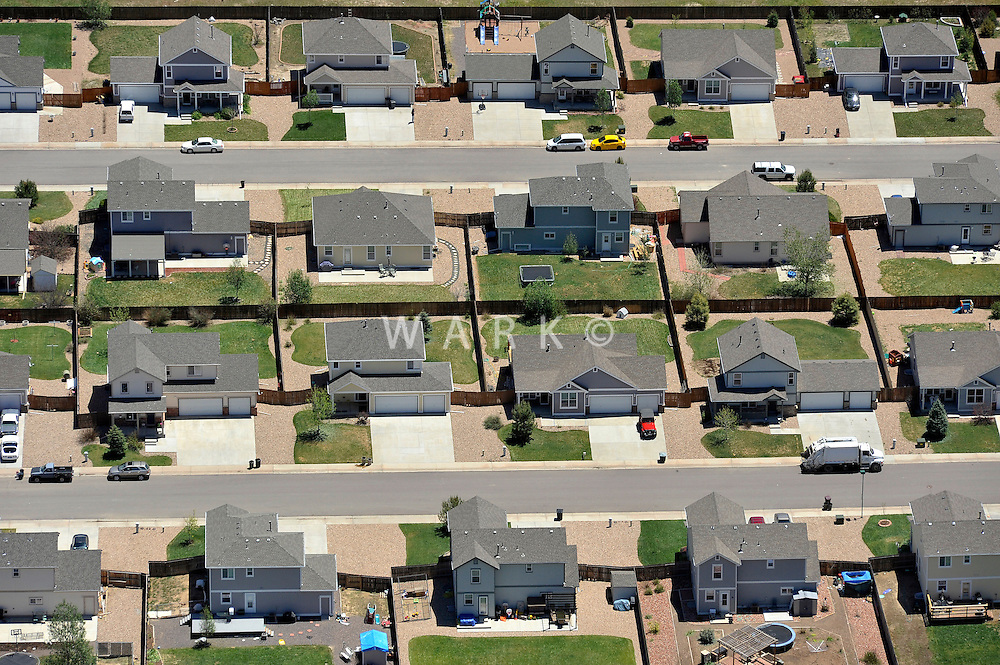 Suburbs, north of Denver