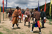 Archery<br /> <br /> a national sport in Bhutan.