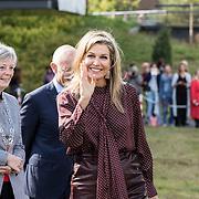 NLD/Apeldoorn/20190919 - Maxima bij bijeenkomst NLgroeit, Koningin Maxima vertrekt