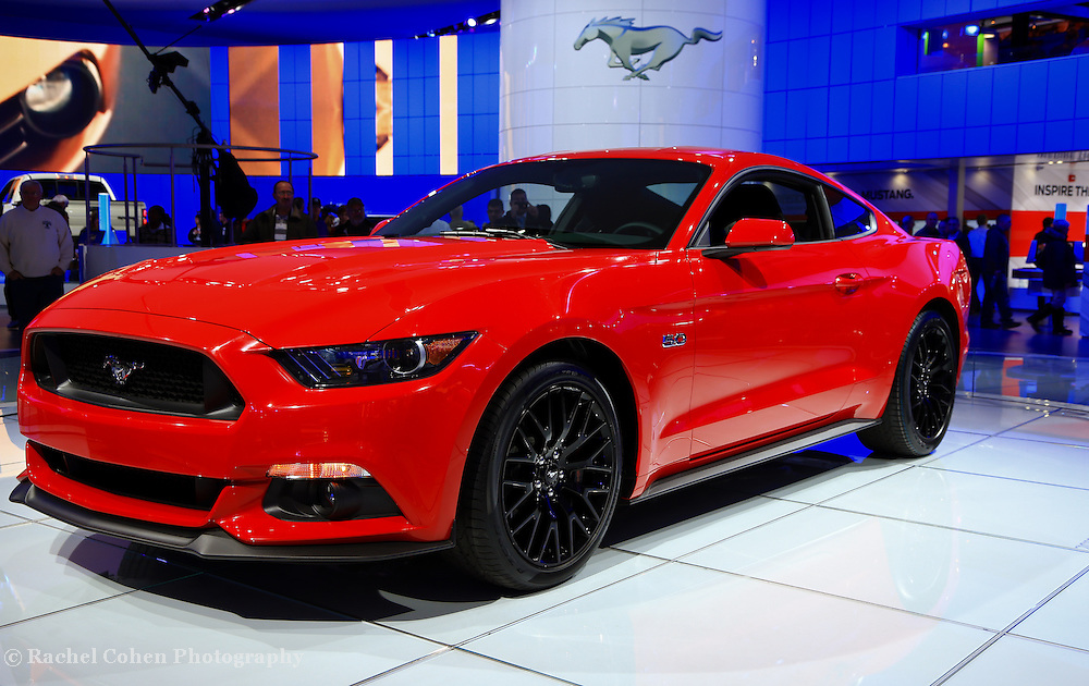 &quot;2015 Mustang in Red&quot;<br />