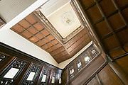 Treppenhaus, Kaiser-Friedrich-Therme innen, Wiesbaden, Hessen, Deutschland | staircase, Kaiser-Friedrich-Therme, Wiesbaden, Hesse, Germany