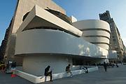 The Solomon Guggenheim Museum, Manhattan, New York, USA
