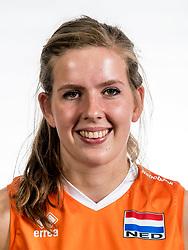 22-05-2017 NED: Nederlands volleybalteam vrouwen, Utrecht<br /> Photoshoot met Oranje vrouwen seizoen 2017 / Tessa Polder #20