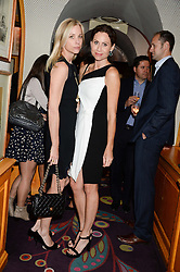 Left to right, sisters KATE DRIVER and MINNIE DRIVER at the launch of Bluehouse, Samsung's Exclusive New members Club held at Annabel's, 44 Berkeley Square, London on 1st July 2013.