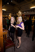LEXI HOFNANN; MISHA ZELECHOWSKI, Preview party for the Versace Sale.  The contents of fashion designer Gianni Versace's villa on Lake Como. Sothebys. Old Bond St. London. 16 March 2009.  *** Local Caption *** -DO NOT ARCHIVE -Copyright Photograph by Dafydd Jones. 248 Clapham Rd. London SW9 0PZ. Tel 0207 820 0771. www.dafjones.com<br /> LEXI HOFNANN; MISHA ZELECHOWSKI, Preview party for the Versace Sale.  The contents of fashion designer Gianni Versace's villa on Lake Como. Sothebys. Old Bond St. London. 16 March 2009.