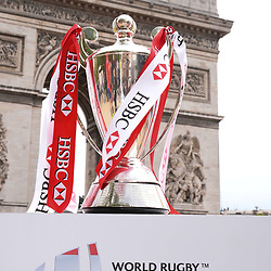 Illustration picture of th Cup during Captains photocall and press conference prior to the Hsbc Paris Rugby Sevens on May 11, 2017 in Paris, France. (Photo by Baptiste Fernandez/Icon Sport)