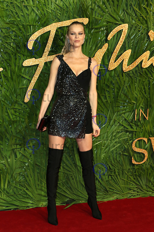 Eva Herzigova, The Fashion Awards 2017, The Royal Albert Hall, London UK, 04 December 2017, Photo by Richard Goldschmidt
