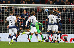 November 6, 2018 - London, England, United Kingdom - London, England - November 06, 2018.Tottenham Hotspur's Harry Kane scores his 2nd goal.during Champion League Group B between Tottenham Hotspur and PSV Eindhoven at Wembley stadium , London, England on 06 Nov 2018. (Credit Image: © Action Foto Sport/NurPhoto via ZUMA Press)