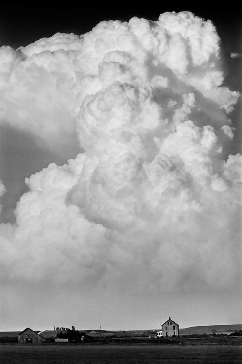 Thunderstorm over Maple Hill, Kansas