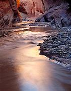 Reflections, Paria River, Paria Canyon/Vermillion Cliffs Wilderness Area, Utah 1985