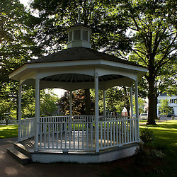 the town common in Grafton, Massachusetts.
