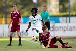 Ibrahim Mensah of NK Aluminij during football match between NK Triglav Kranj and NK Aluminij in 2nd Round of Prva liga Telekom Slovenije 2018/19, on July 28, 2018 in Sports park Kranj, Kranj, Slovenia. Photo by Urban Urbanc / Sportida