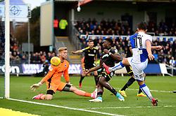 Tom Nichols of Bristol Rovers takes a shot at goal - Mandatory by-line: Dougie Allward/JMP - 18/11/2017 - FOOTBALL - Memorial Stadium - Bristol, England - Bristol Rovers v AFC Wimbledon - Sky Bet League One