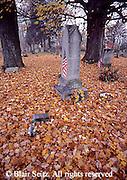 Autumn cemetery, NE PA