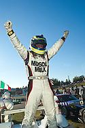 Klaus Graf Celebrates Winning The Grand Prix of Mosport