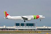 TAP Portugal, Airbus A321-200 at Malpensa (MXP / LIMC), Milan, Italy