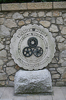 Stephen Roche monument in Dundrum in Dublin Ireland