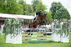 Klimke Ingrid, (GER), Horseware Hale Bob<br /> Cross Country<br /> Mitsubishi Motors Badminton Horse Trials - Badminton 2015<br /> © Hippo Foto - Libby Law<br /> 10/05/15