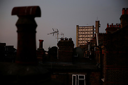 UK ENGLAND LONDON 8SEP16 - View of Trellick Tower from Maida Vale at dawn.<br /> <br /> jre/Photo by Jiri Rezac<br /> <br /> © Jiri Rezac 2016