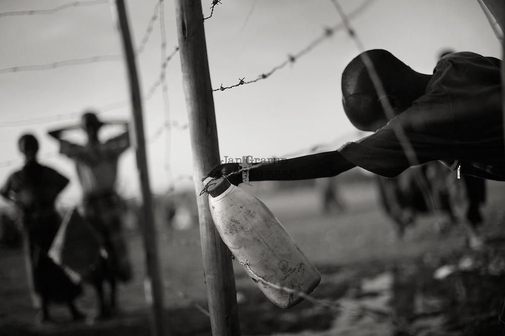 Somali refugees in the border region between Somalia and Ethiopia.