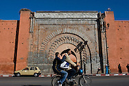 (Marrakesh, Morocco - January 9, 2009) - An ancient city gate in Marrakesh Photo by Will Nunnally / Will Nunnally Photography