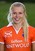 BLOEMENDAAL - Hockey-  Roos Broek. Dames I van Hockeyclub Bloemendaal. COPYRIGHT KOEN SUYK