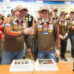 20130218: SLO, Nordic Ski - Team Slovenia for Nordic Ski World Championships Trentino Fiemme 2013