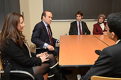 Turkish Ambassador to the United States, His Excellency Namik Tan visit at Yale University | 6 December 2012