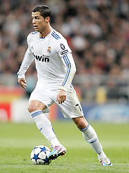 16.03.2011, Stadio Santiago di Bernabeu, Madrid, ESP, UEFA CL, Real Madrid vs Olympique de Lyon, im Bild Real Madrid's Cristiano Ronaldo during Champions League match. March 16, 2011. . EXPA Pictures © 2011, PhotoCredit: EXPA/ Alterphotos/ Alvaro Hernandez +++++ ATTENTION - OUT OF SPAIN / ESP +++++