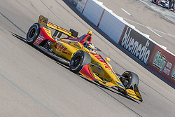 February 9, 2018 - Avondale, Arizona, United States of America - February 09, 2018 - Avondale, Arizona, USA:  Ryan Hunter-Reay (28) takes his IndyCar Verizon car through the turns during the Prix View at ISM Raceway in Avondale, Arizona. (Credit Image: © Walter G Arce Sr Asp Inc/ASP via ZUMA Wire)