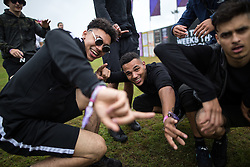 © Licensed to London News Pictures . 11/06/2016 . Manchester , UK . Revellers at the Parklife music festival at Heaton Park in Manchester . Photo credit : Joel Goodman/LNP