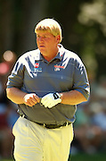 Jul 30, 2005; Grand Blanc, MI, USA; Always a fan favorite John Daly approaches the green of the par five 16th after going over in in two during play Saturday at the 2005 Buick Open. Copyright © 2005 Kevin Johnston