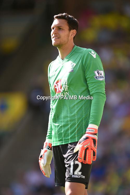Crystal Palace goalkeeper Alex McCarthy
