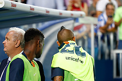 September 26, 2018 - Vidal of FC Barcelona during the La Liga (Spanish Championship) football match between CD Leganes and FC Barcelona on September 26th, 2018 at Municipal Butarque stadium in Madrid, Spain. (Credit Image: © AFP7 via ZUMA Wire)