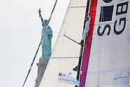 THE TRANSAT BAKERLY - ARRIVALS FROM PLYMOUTH IN NYC