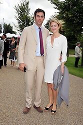 HUGH & ROSE VAN CUTSEM at day 1 of the annual Glorious Goodwood racing festival held at Goodwood Racecourse, West Sussex on 28th July 2009.