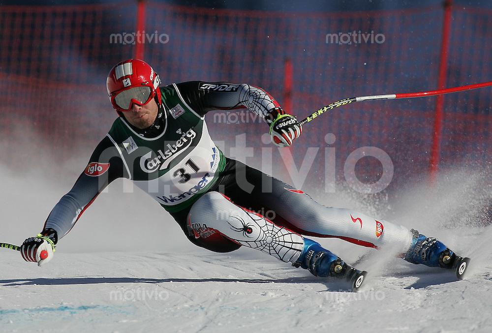 Ski Alpin; Saison 2004/2005 Abfahrt Wengen Herren 75. Lauberhornrennen , Thomas Graggaber (AUT)