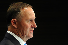 Wellington-Prime Minister John Key announces new cabinet