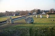 Avebury neolithic stone circle and henge, Wiltshire, England