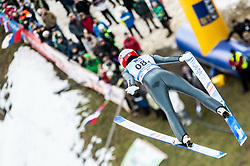 Eva Pinkelnig of Austria competes during Team Competition at Day 2 of World Cup Ski Jumping Ladies Ljubno 2019, on February 9, 2019 in Ljubno ob Savinji, Slovenia. Photo by Matic Ritonja / Sportida