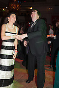 COUNT NICOLAS REUTTNER;COUNTESS NICOLAS REUTTNER, THE 35TH WHITE KNIGHTS BALLIN AID OF THE ORDER OF MALTA VOLUNTEERS' WORK WITH ADULTS AND CHILDREN WITH DISABILITIES AND ILLNESS. The Great Room, Grosvenor House Hotel, Park Lane W1. 11 January 2014