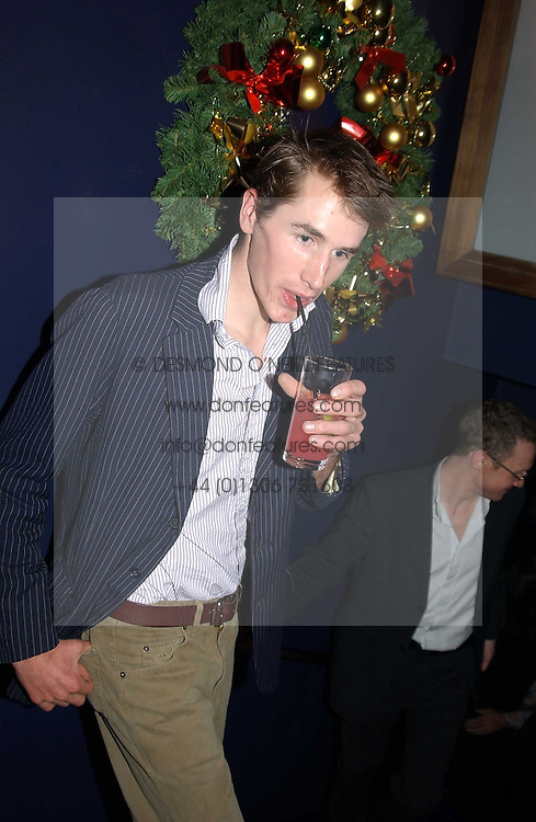 OTIS FERRY son of Bryan Ferry at a party hosted by Tatler magazine to celebrate the publication of the 2004 Little Black Book held at Tramp, 38 Jermyn Street, London SW1 on 10th November 2004.<br /><br />NON EXCLUSIVE - WORLD RIGHTS