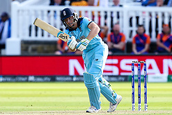 Jos Buttler of England batting - Mandatory by-line: Robbie Stephenson/JMP - 14/07/2019 - CRICKET - Lords - London, England - England v New Zealand - ICC Cricket World Cup 2019 - Final
