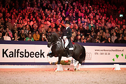 Minderhoud Hans Peter, NED, Glock's Toto Jr<br /> KWPN Hengstenkeuring - 's Hertogenbosch 2019<br /> © Hippo Foto - Dirk Caremans<br /> 02/02/2019