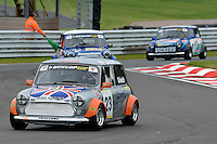 #23 Rupert Deeth Mini Miglia during the Dunlop Mini Miglia Challenge at Oulton Park, Little Budworth, Cheshire, United Kingdom. August 20 2016. World Copyright Peter Taylor/PSP.