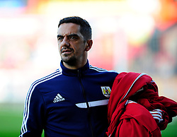 bristol city's kitman, Scott Murray - Photo mandatory by-line: Robin White/JMP - Tel: Mobile: 07966 386802 21/10/2013 - SPORT - FOOTBALL - Selhurst Park - London - Crystal Palace V Fulham - Barclays Premier League
