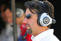 Michael Andretti at the Michigan International Speedway, Firestone Indy 400, July 31, 2005