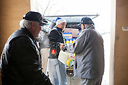 12/8/13 12:24:14 PM -- Albuquerque NM  --Presentation of supplies for Operation Comfort Warriors gifts to the Raymond G. Murphy VA Medical Center in Albuquerque, N.M..<br /> <br />  --    Photo by Steven St John