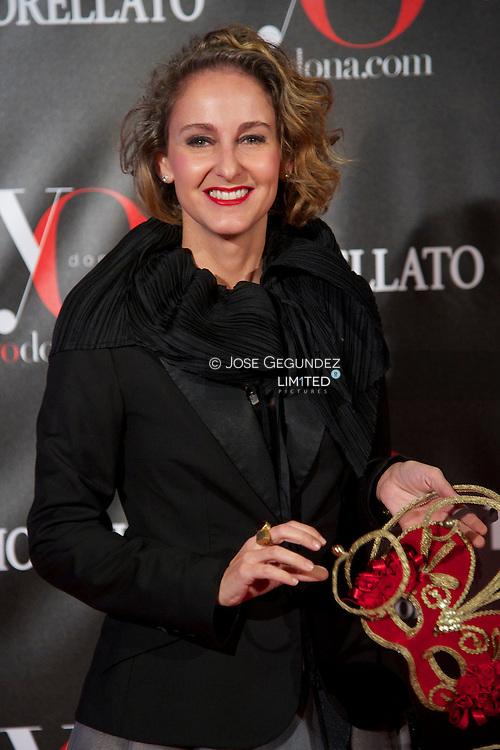 Carla Royo Villanova attends 'Yo Dona' Magazine's Mask Party at Casino on 18 February, 2013 in Madrid